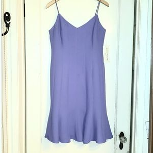 New Evan Picone lavender fit and flare dress 10P